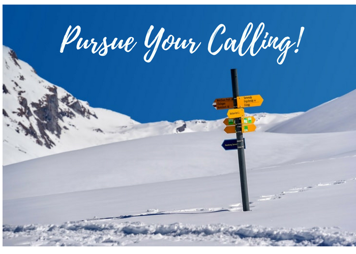 signs pointing in different directions in the snow, 10 Buckets for Work Life Balance: #10 Start Thriving and Fulfilling Your Purpose to Pursue Your Calling