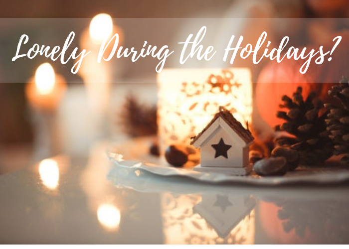 Christmas decoration and lights, How to Not Feel Lonely During the Holidays
