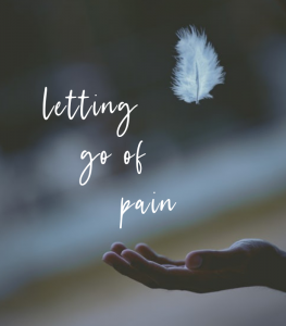 feather floating off a hand, How to Let Go of Pain and Surrender Into Suffering