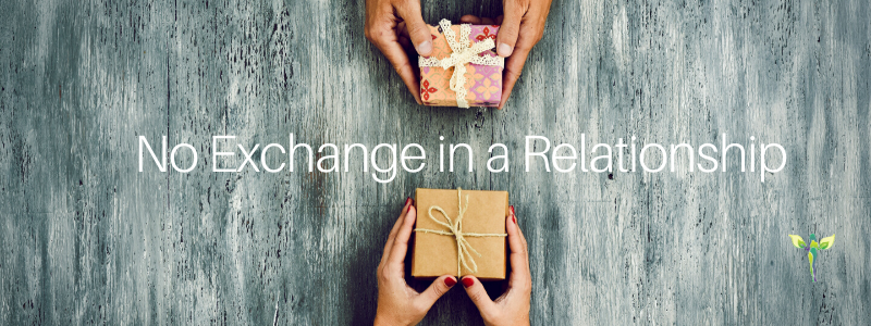 hands exchanging gifts, how to be open to receive love